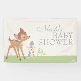 Bambi | Neutral Baby Shower Banner