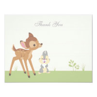 Bambi | Neutral Baby Shower Thank You Card