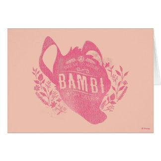 Bambi | Oh Dear Card