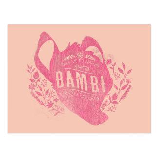 Bambi | Oh Dear Postcard