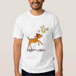 Bambi playing with butterflies T-Shirt