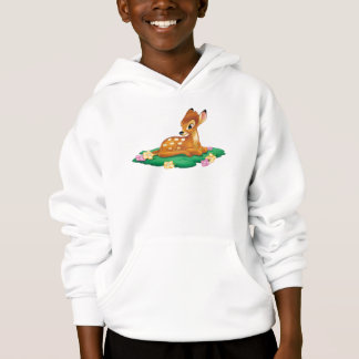 Bambi sitting on the grass hoodie