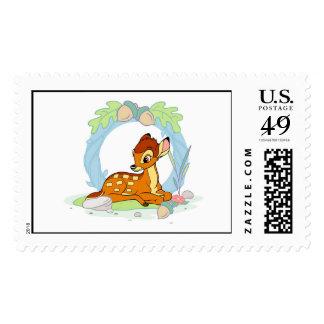 Bambi sitting postage