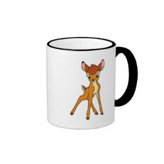 Bambi standing ringer coffee mug