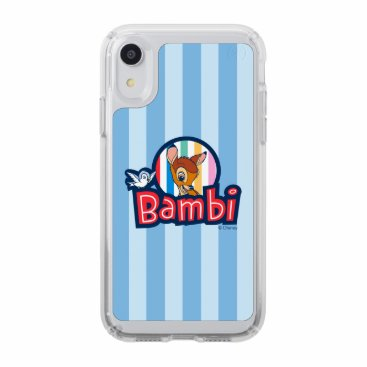 Bambi Striped Badge Speck iPhone XR Case