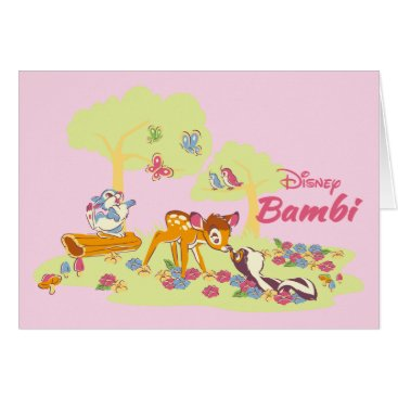 Disney Themed Bambi   Sweet as can be Card