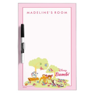 Disney Themed Bambi   Sweet as can be Dry Erase Board