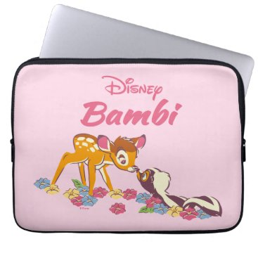 Disney Themed Bambi   Sweet as can be Laptop Sleeve