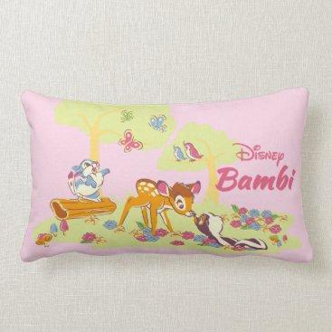 Disney Themed Bambi   Sweet as can be Lumbar Pillow
