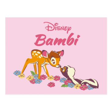 Disney Themed Bambi   Sweet as can be Postcard
