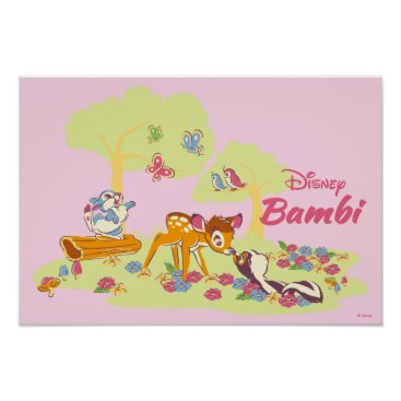 Disney Themed Bambi   Sweet as can be Poster