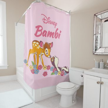 Disney Themed Bambi   Sweet as can be Shower Curtain