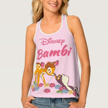 Disney Themed Bambi   Sweet as can be Tank Top