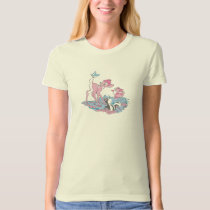 Bambi, Thumper, and Flower with Butterfly T-Shirt