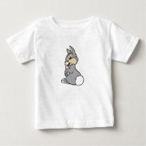 Bambi Thumper rabbit sitting Baby T-Shirt