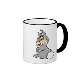 Bambi Thumper rabbit sitting Ringer Mug