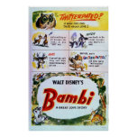 bambi, thumper, flower, twitterpated, owl,