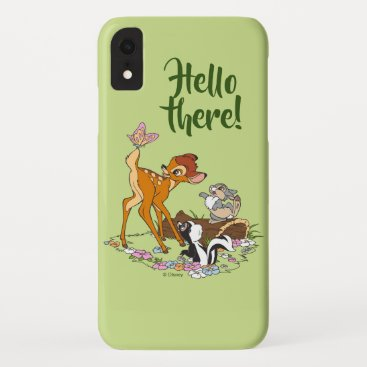 Bambi With Butterfly On Tail iPhone XR Case