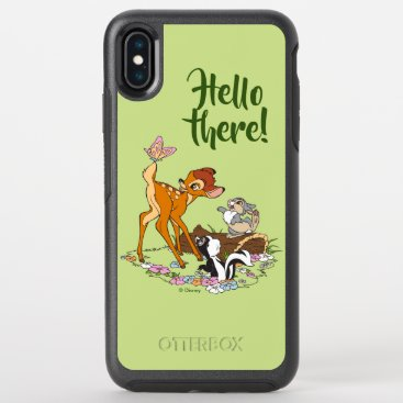 Bambi With Butterfly On Tail OtterBox Symmetry iPhone XS Max Case