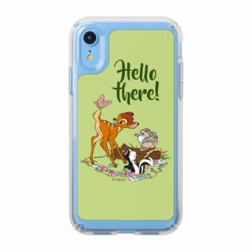 Bambi With Butterfly On Tail Speck iPhone XR Case
