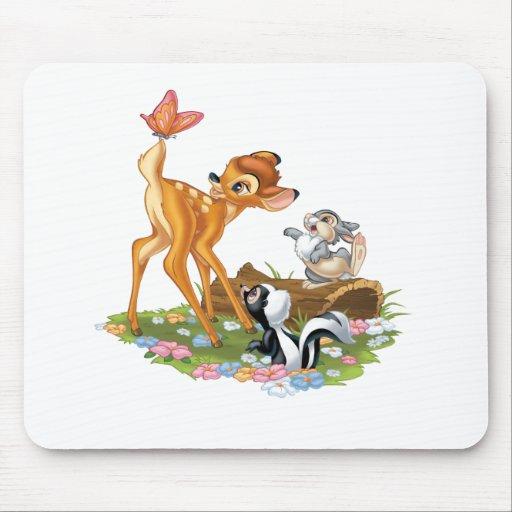 Bambi y amigos tapetes de ratones
