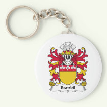 Bambil Family Crest Keychain