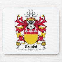 Bambil Family Crest Mousepad