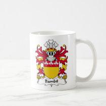 Bambil Family Crest Mug