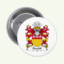 Bambil Family Crest Button