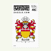 Bambil Family Crest Stamps