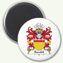 Bambil Family Crest Magnet