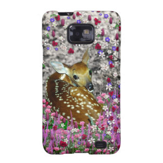 Bambina the Fawn in Flowers II Galaxy SII Cover