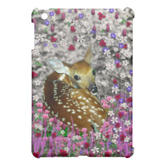 Bambina the Fawn in Flowers II iPad Mini Cases