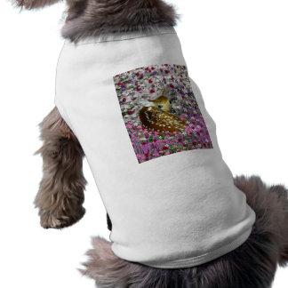 Bambina the Fawn in Flowers II Shirt