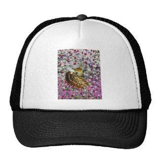 Bambina the Fawn in Flowers II Trucker Hat
