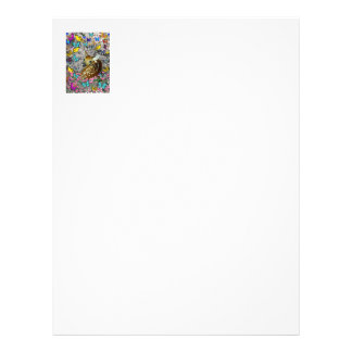 Bambina the White-Tailed Fawn in Butterflies Letterhead