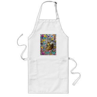 Bambina the White-Tailed Fawn in Butterflies Long Apron