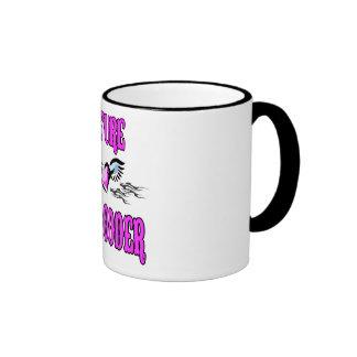 Bambino Babble Hot Rod Future Ringer Coffee Mug