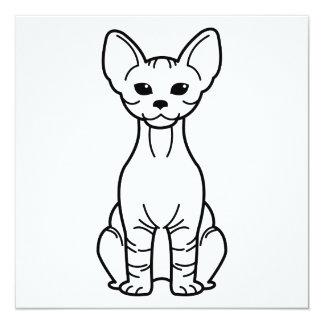 Bambino Cat Cartoon Card