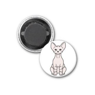 Bambino Cat Cartoon Magnet