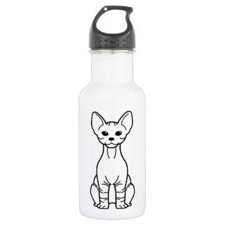 Bambino Cat Cartoon Stainless Steel Water Bottle