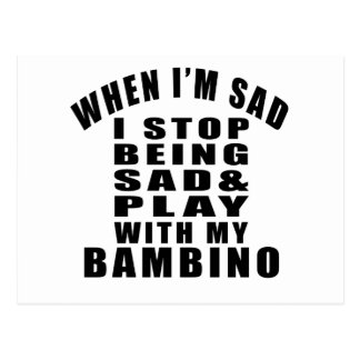 BAMBINO COOL CAT DESIGNS POSTCARD