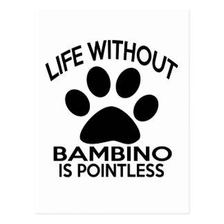 BAMBINO DESIGNS POSTCARD