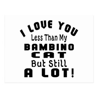 BAMBINO FUNNY DESIGNS POSTCARD