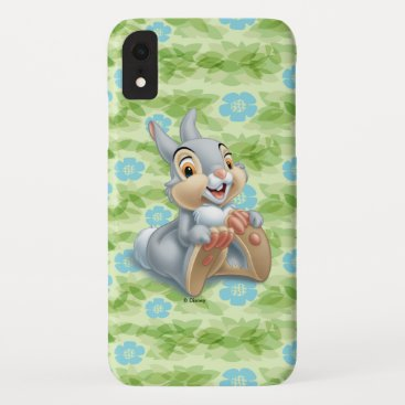 Bambi's Thumper Holding His Feet iPhone XR Case