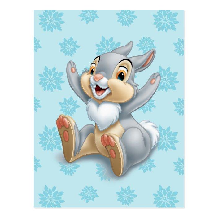 Thumper Postcard Bambi