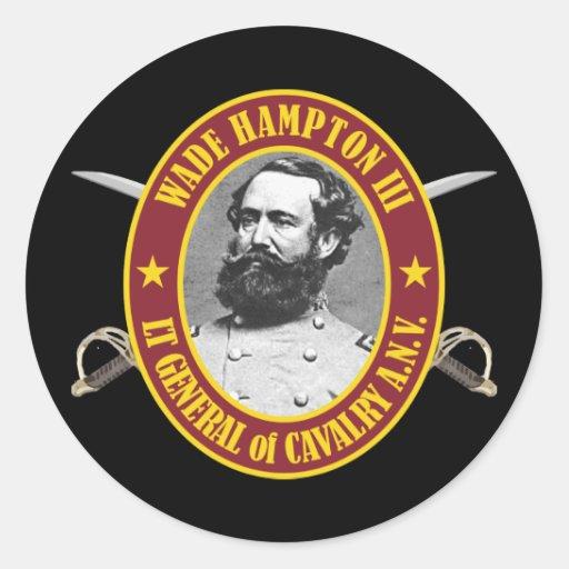 Bamboleo Hampton (AFGM) Pegatina Redonda