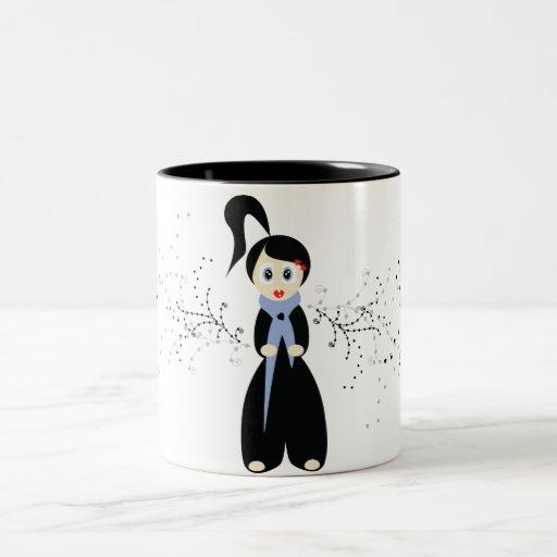 bambolina da the Two-Tone coffee mug
