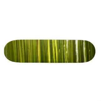 Bamboo abstract skateboard