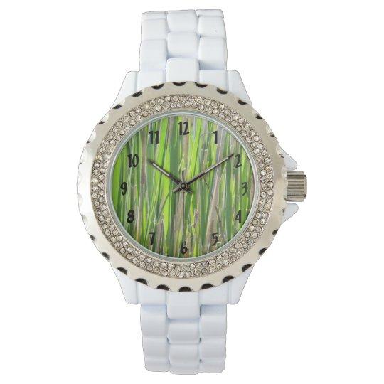 Bamboo Against the Sun Wrist Watch